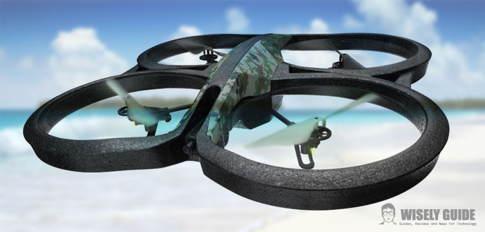 Parrot AR.Drone 2.0 GPS Edition - New functions for the ...