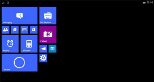 Windows 10 for Small Tablet