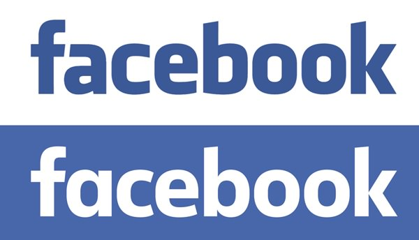 Facebook old and new logo