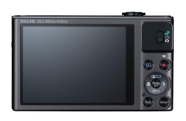 Canon PowerShot SX620 HS - Rear