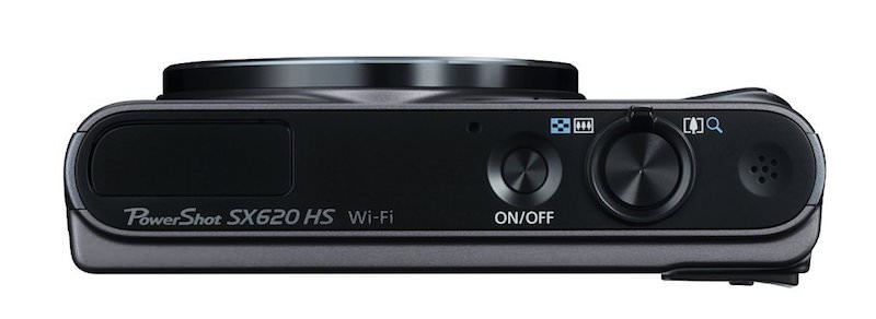 Canon PowerShot SX620 HS - Top