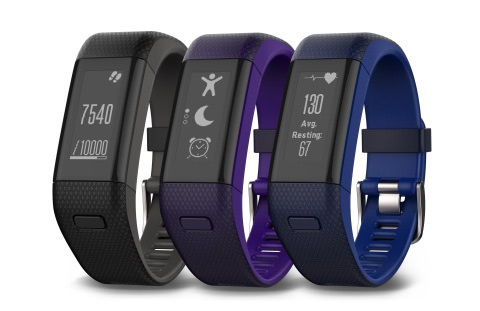 Garmin vívosmart HR+ - 3 Color