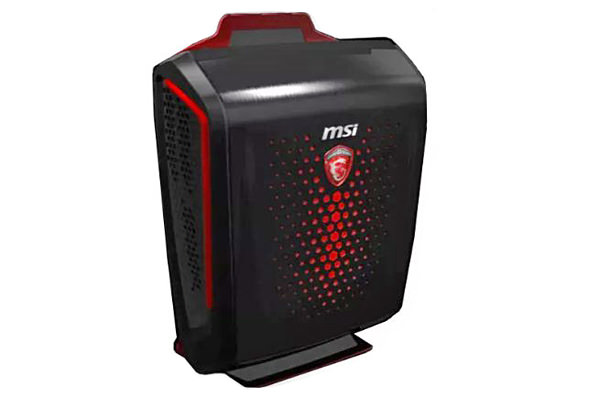 The MSI  Backpack PC or the hardware of a gaming PC into a wearable body like a backpack.