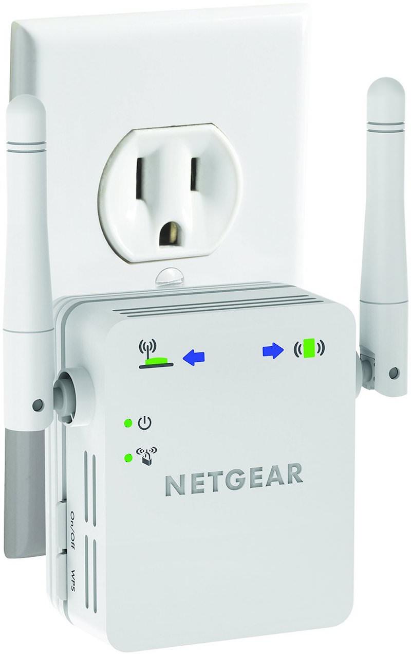 NETGEAR N300 WN3000RP Wi-Fi Range Extender